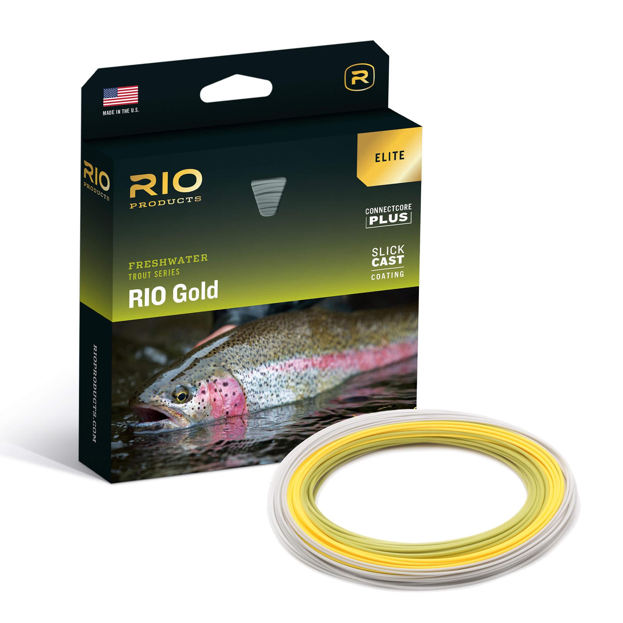 RIO SLICKCAST GOLD ELITE FLY LINE BOX