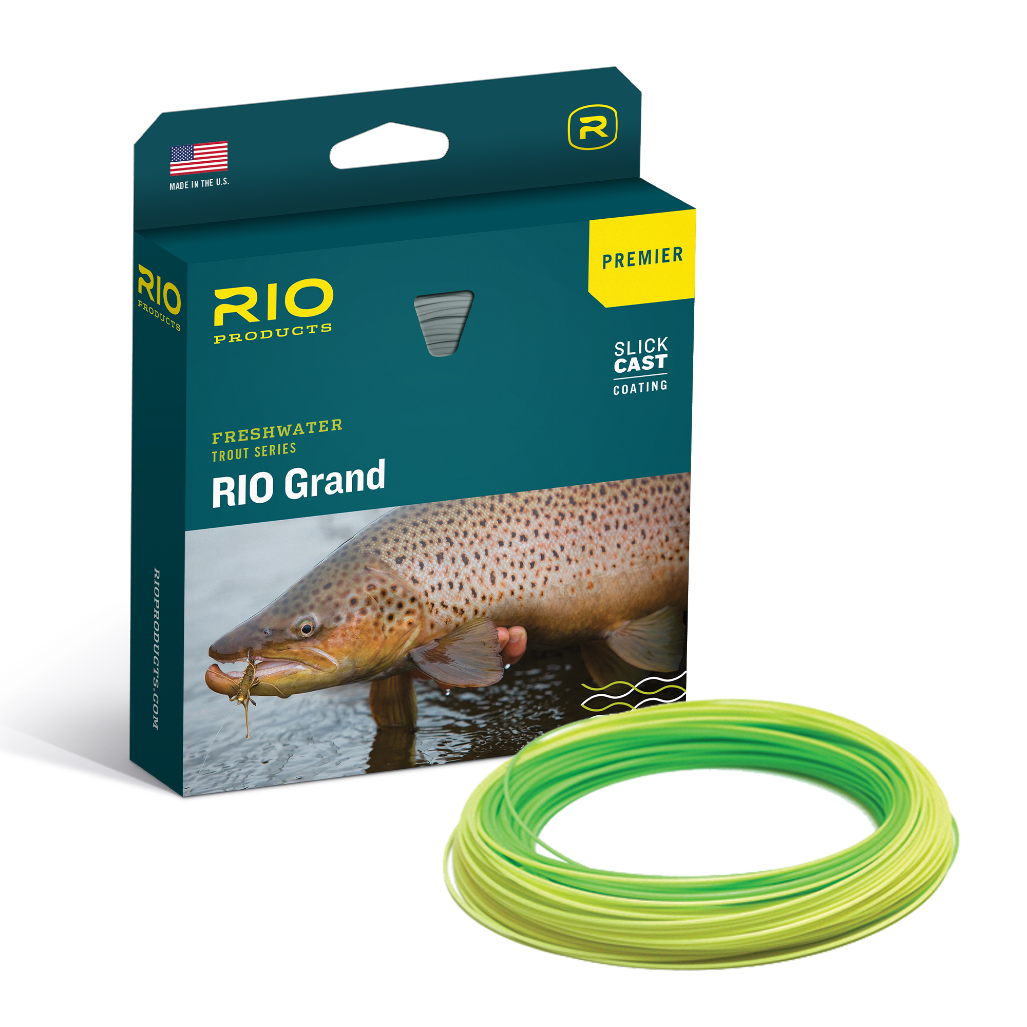 RIO SLICKCAST GRAND PREMIER FLY LINE BOX
