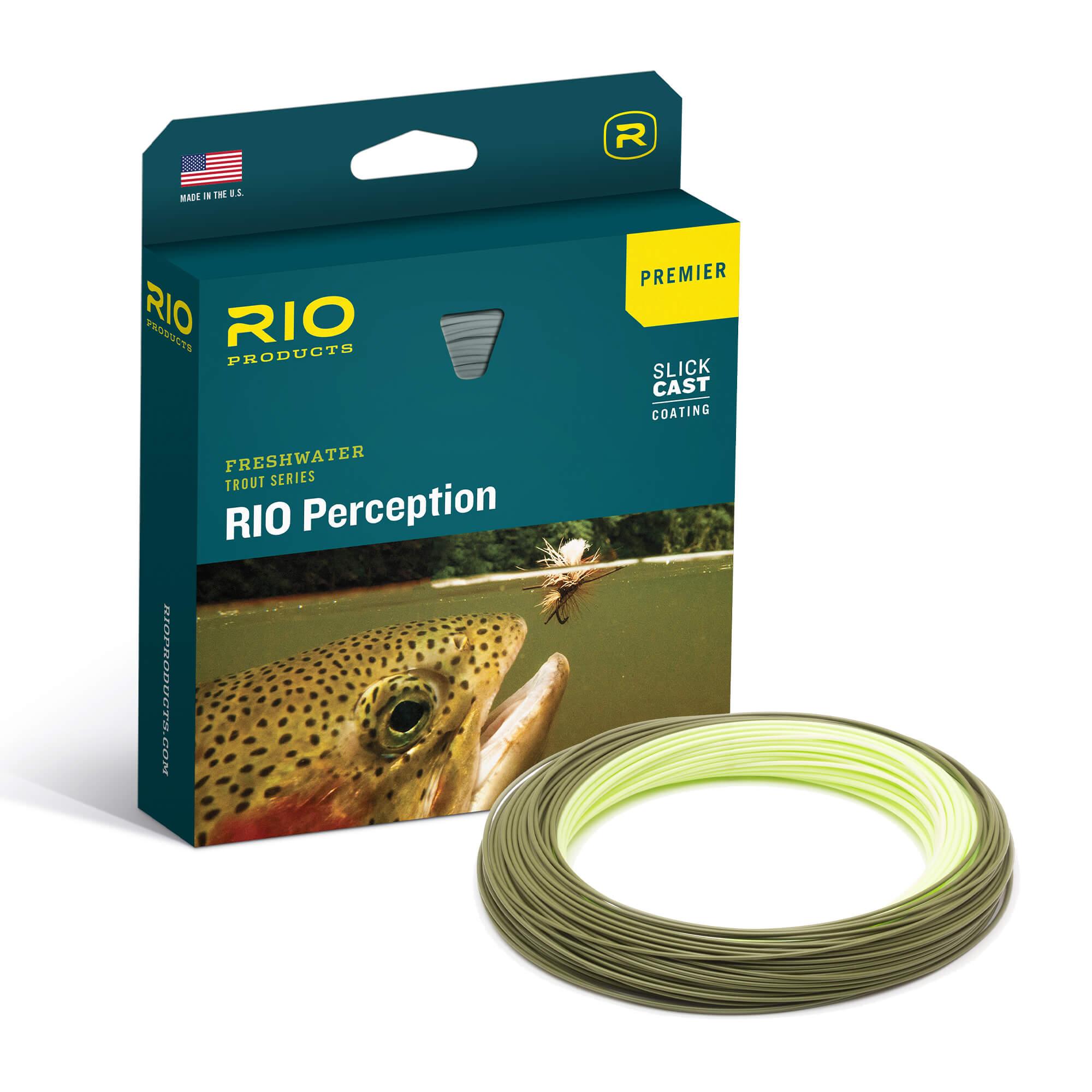 RIO SLICKCAST PERCEPTION PREMIER FLY LINE BOX