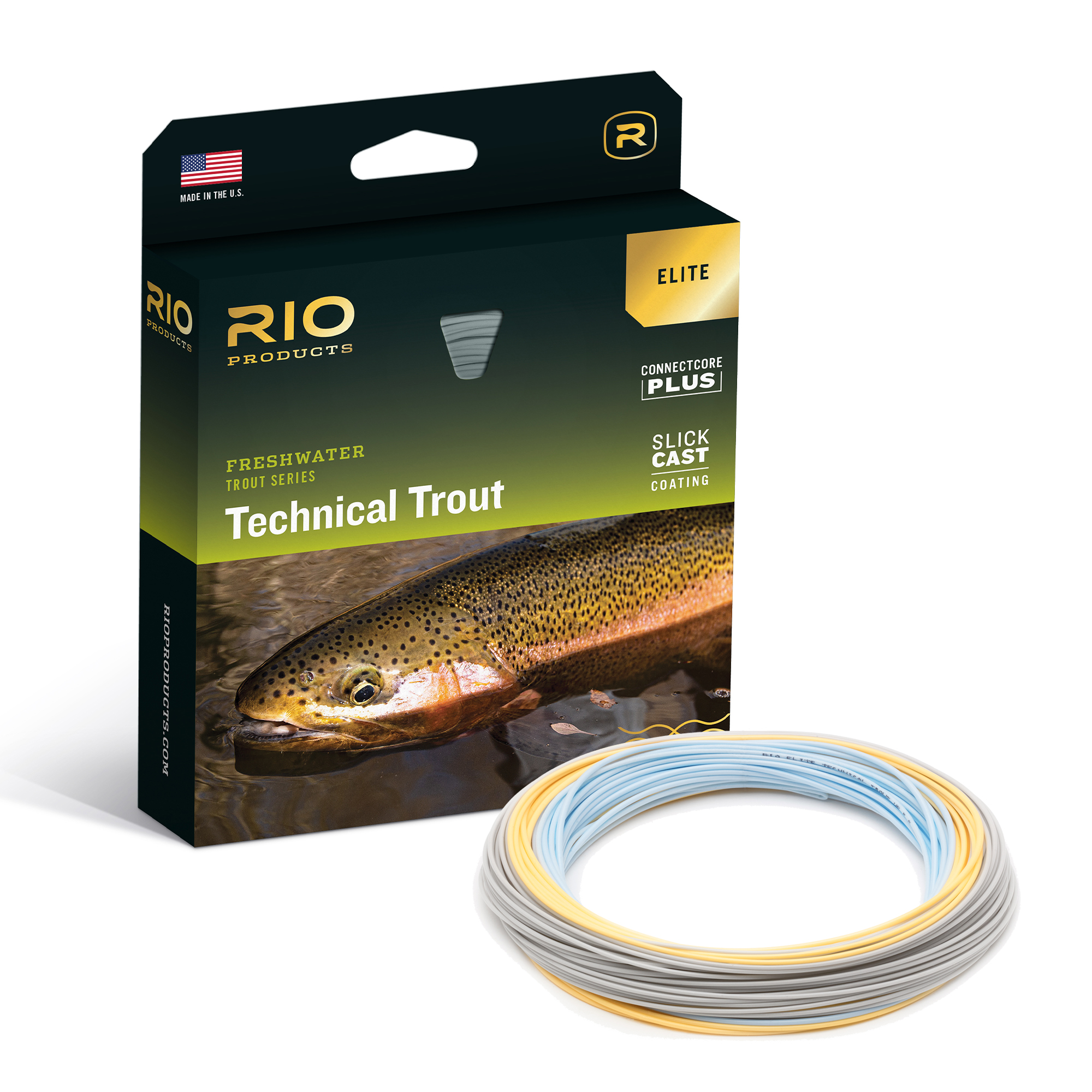 RIO SLICKCAST TECHNICAL TROUT ELITE FLY LINE BOX