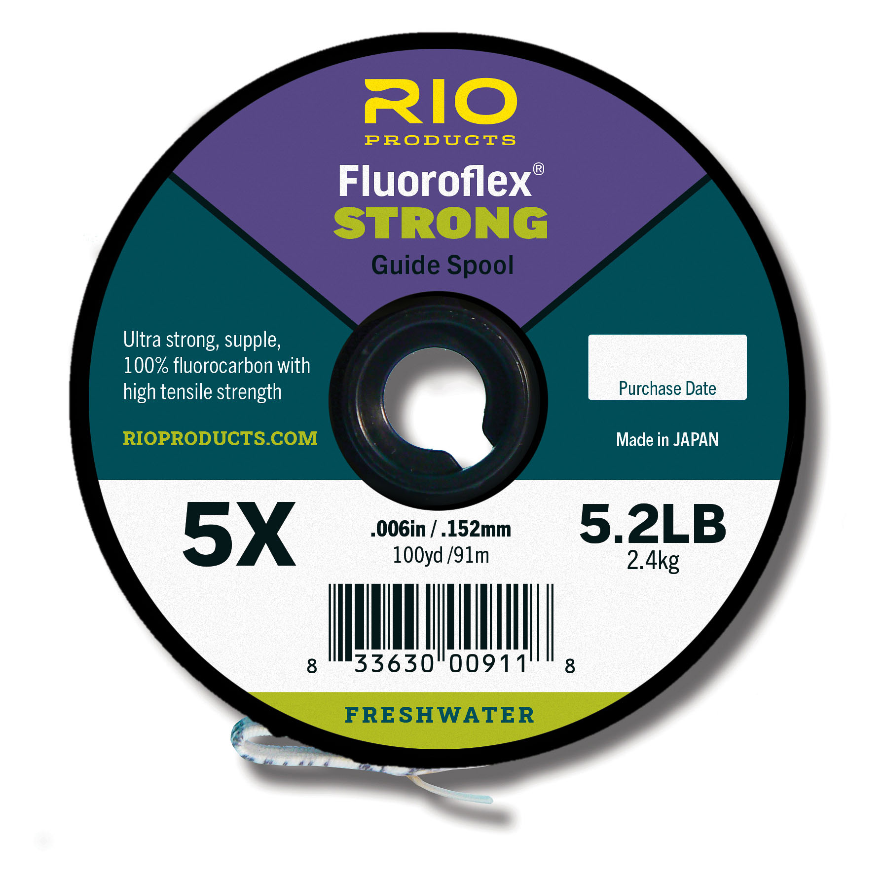 RIO Fluoroflex Strong Guide Spool