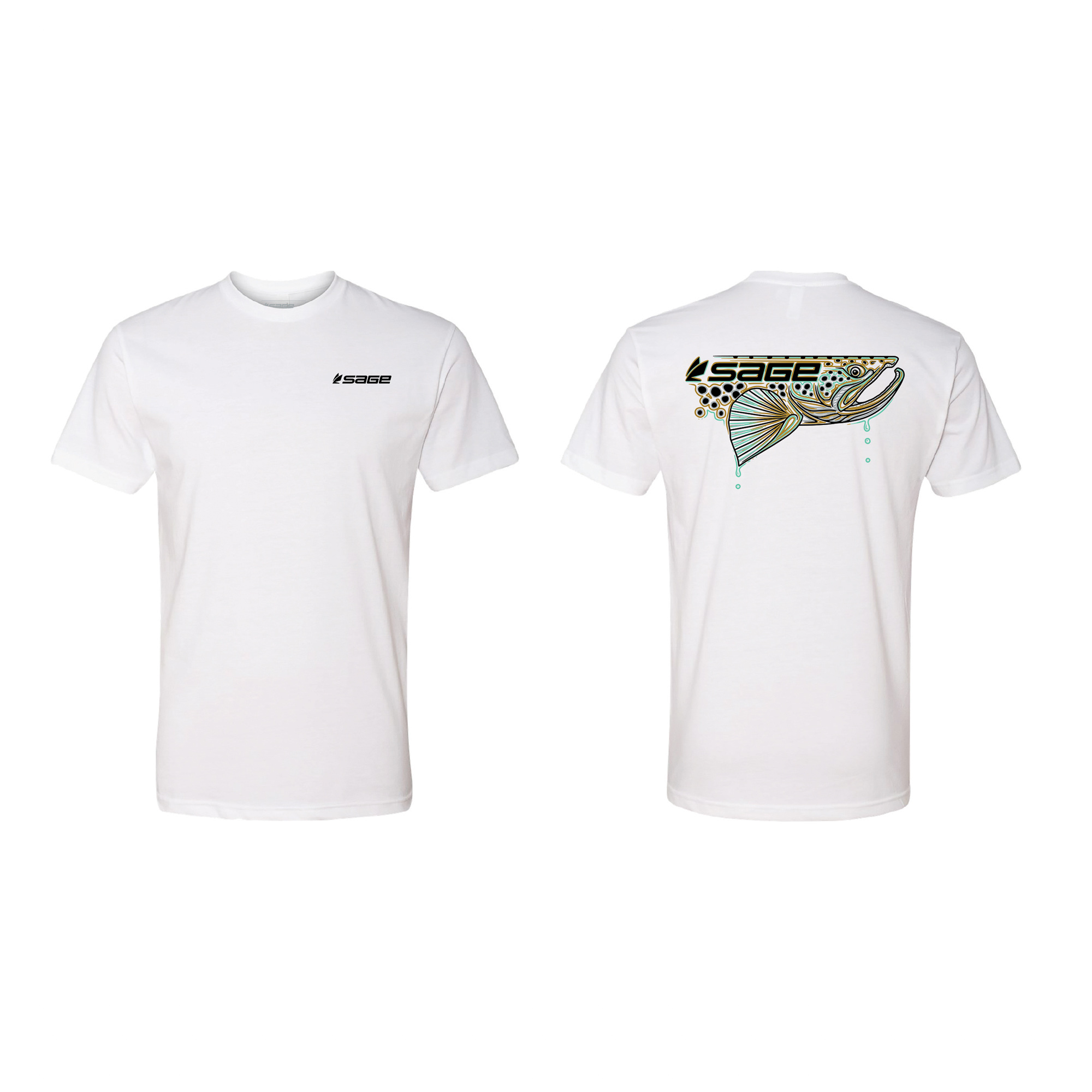 Sage Dripping Trout T-shirt