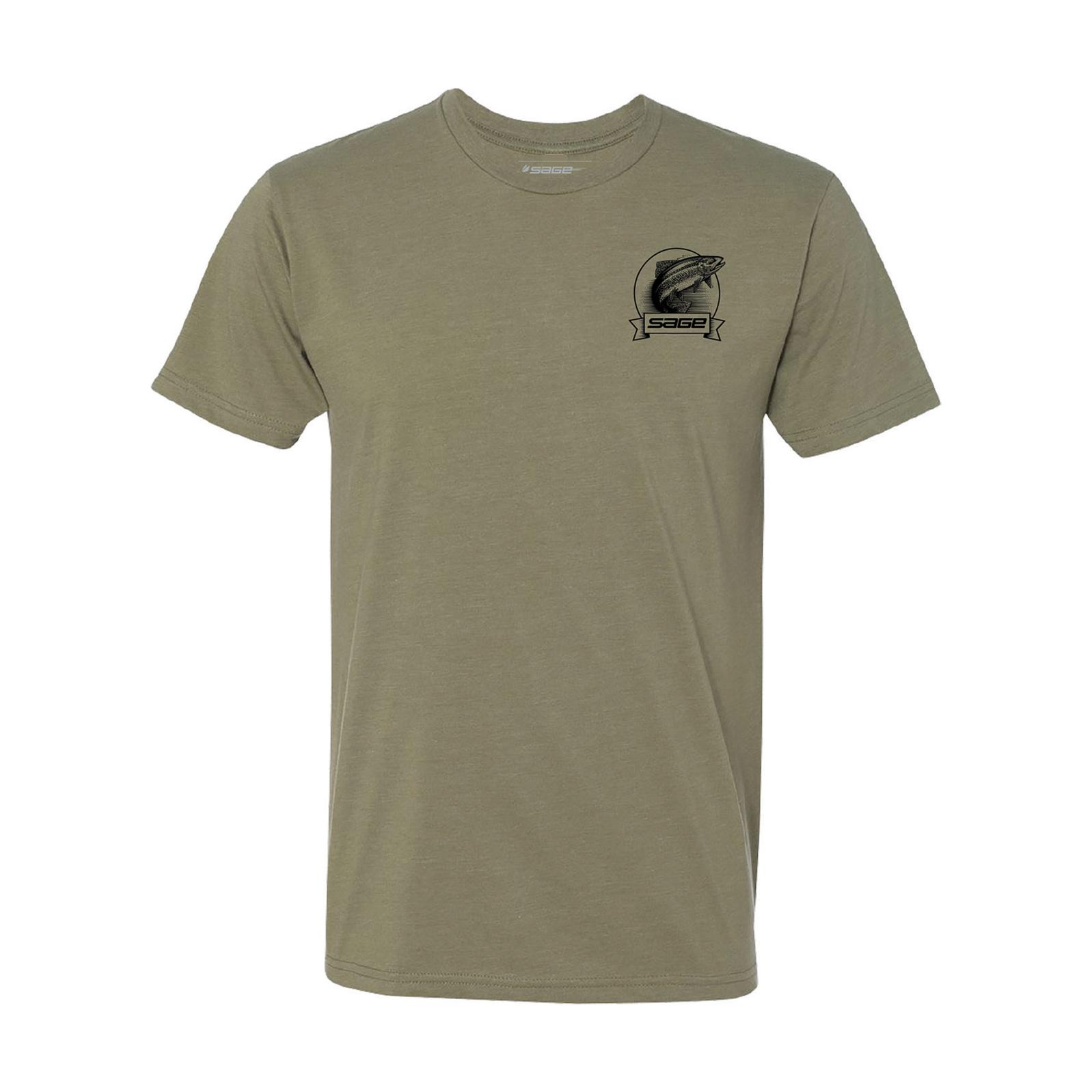 Sage Heritage Trout T-shirt