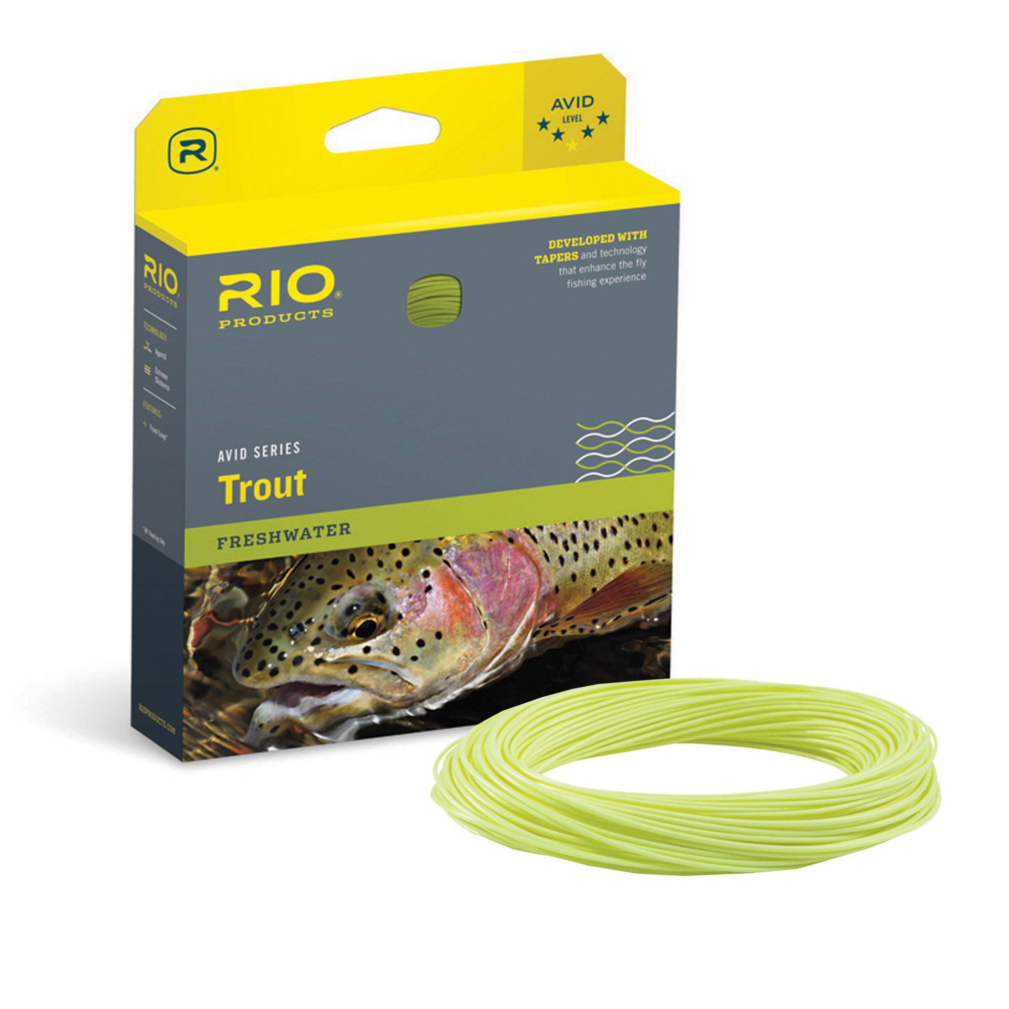 RIO AVID TROUT BOX & SPOOL