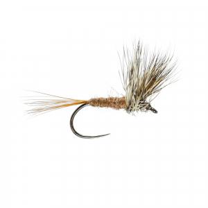 March Brown Upright W/Dry B/L