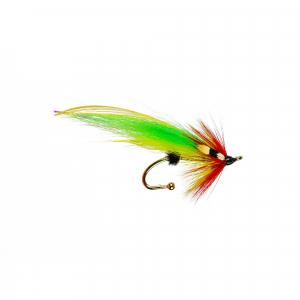 Brooch Pin Salmon Green Highlander