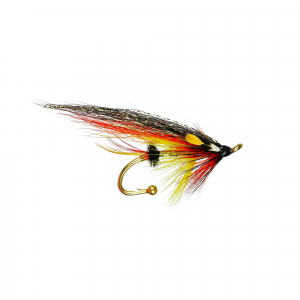 Brooch Pin Salmon Gold Willie Gunn