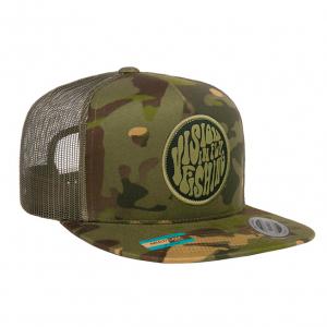 Vision Psyke Green Camo Cap