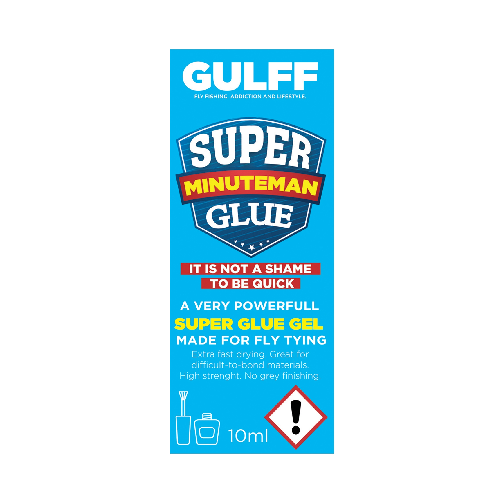 Gulff Minuteman Gel Superglue