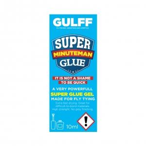 Gulff Minuteman Gel Superglue