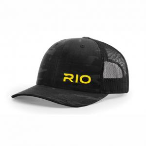 Rio Mesh Back Cap Black Camo