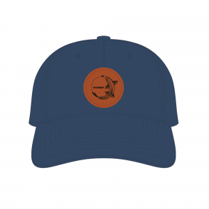 Sage Chasing Trout Hat Navy