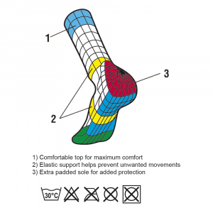 Vision Sub Zero Socks