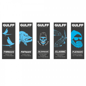 Gulff Clear and Glow UV Resin