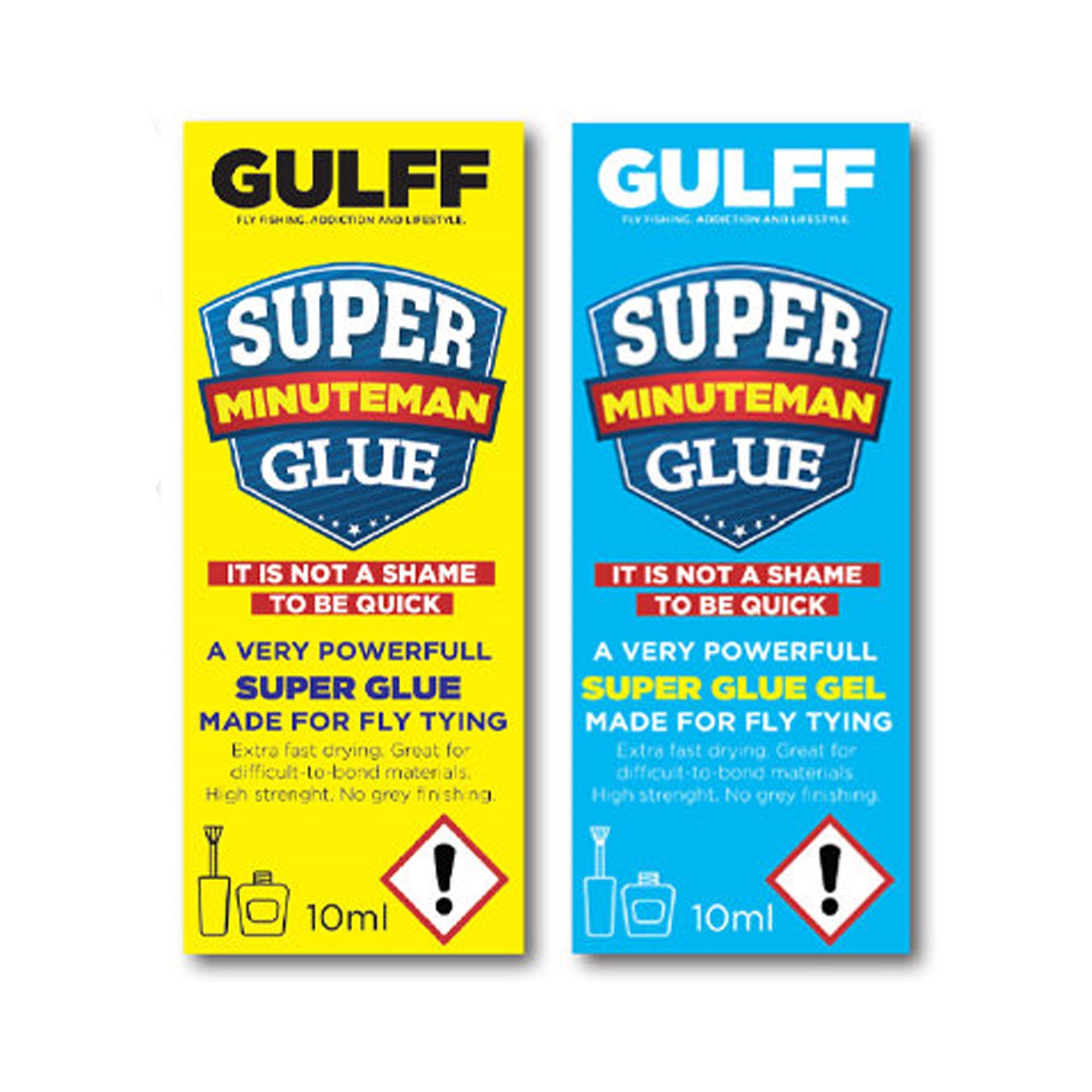 Gulff Minuteman Superglue and Gel