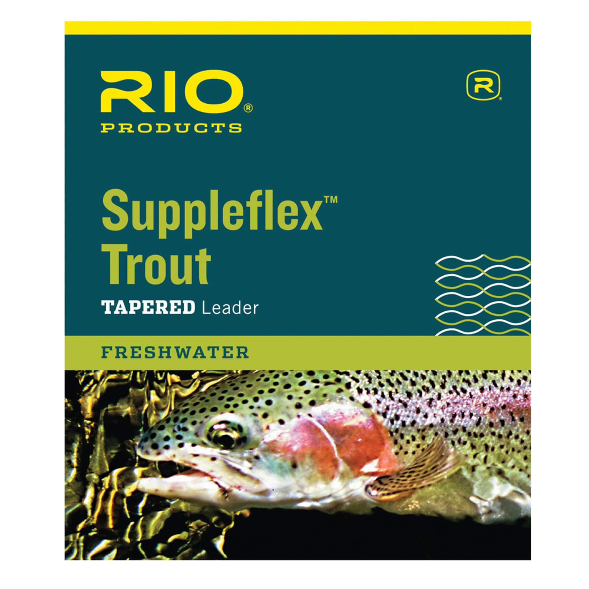 Freshwater Tapered Leader Suppleflex™ Trout