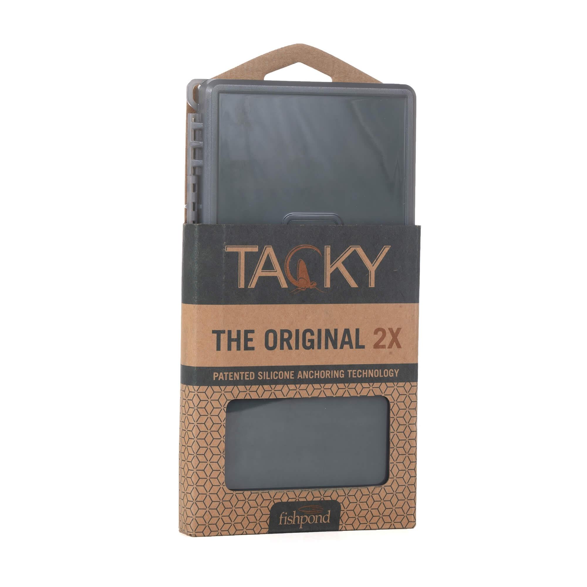TACKY ORIGINAL FLY BOX DOUBLE SIDED