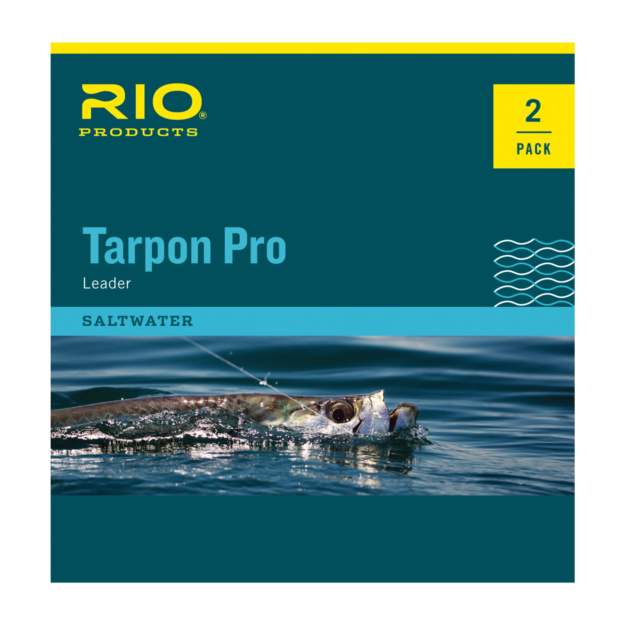 Tapered Leader Tarpon Pro (Twin Pack)