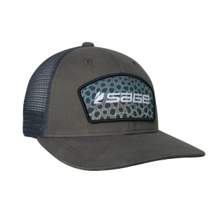 Sage Patch Trucker Cap – Brown Trout